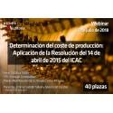 50151393 - Determinación del coste de producción, aplicación de la Res. 14-04-2015 del ICAC