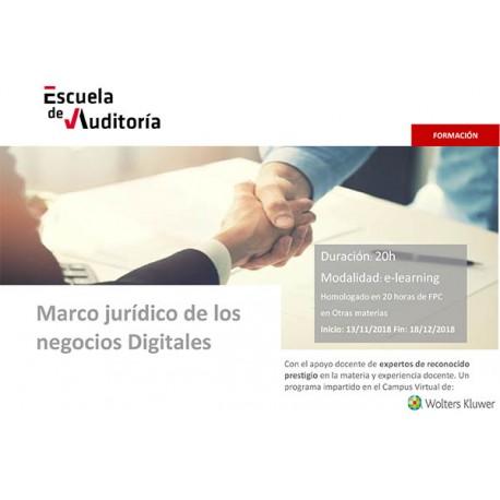Marco jurídico de los negocios digitales