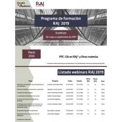 Formación RAJ 2019