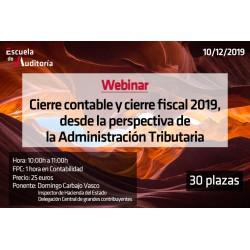 Cierre contable y fiscal 2019