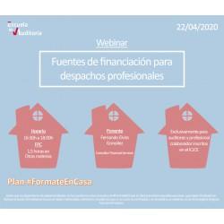 50177771 - Fuentes de financiación para despachos profesionales