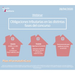 50177831 - Obligaciones tributarias en las distintas fases del concurso