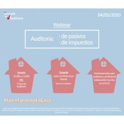 50177909 - Auditoría:  de pasivos  e impuestos
