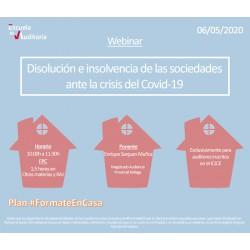 50177954 -Disolución e insolvencia de las sociedades ante la crisis del Covid-19