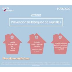 50178073 - Prevención de blanqueo de capitales