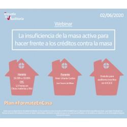50179176 - La insuficiencia de la masa activa para hacer frente a los créditos contra la masa