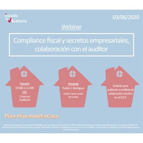50179186 - Compliance fiscal y secretos empresariales, colaboración con el auditor