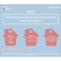 50179330 - Tratamiento contable de los arrendamientos financieros. NIIF16