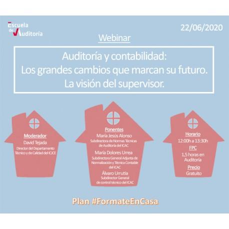 50179535 -Auditoría y contabilidad: los grandes cambios que marcan su futuro. La visión del supervisor