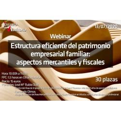 50179728 -Estructura eficiente del patrimonio empresarial familiar. Aspectos mercantiles y fiscales