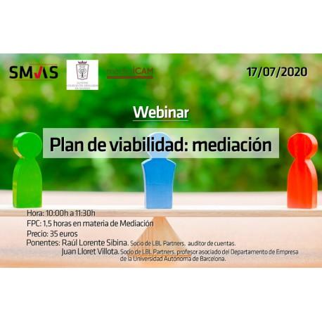 50180034 -Plan de  Viabilidad: Mediación