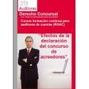 50180671 - Efectos de la declaración del concurso de acreedores