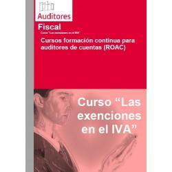 50100576 - Las exenciones en el IVA