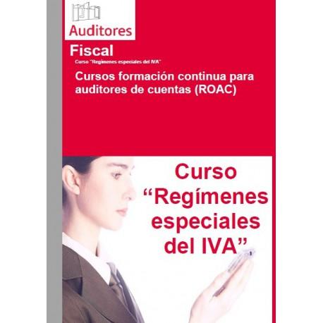 50102887 - Regimenes especiales del IVA