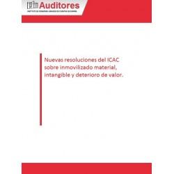 50127137 - Nuevas resoluciones del ICAC sobre inmovilizado material, intangible y deterioro de valor