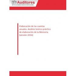 50127139 - Elaboración de las cuentas anuales. Análisis teórico práctico de elaboración de la Memoria (versión 2016)