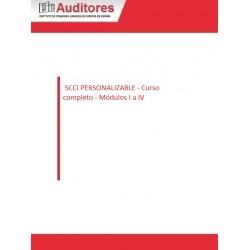50127146 - SCCI PERSONALIZABLE - Curso completo - Módulos I a IV