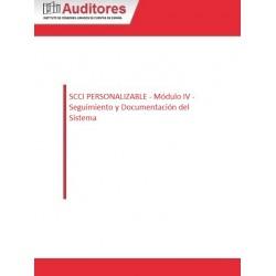 50127150 - SCCI PERSONALIZABLE - Módulo IV - Seguimiento y Documentación del Sistema