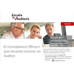 50136065- El Compliance Officer que necesita conocer un Auditor