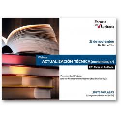 Actualización técnica (nov/17)