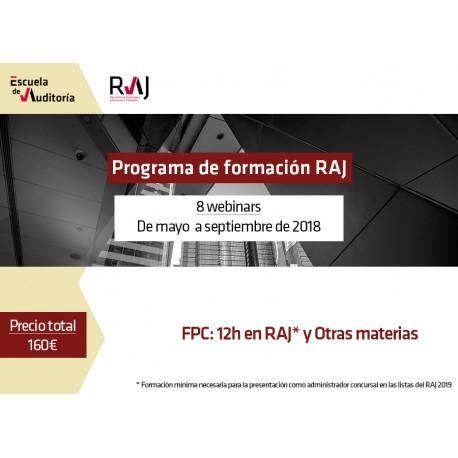 Programa Formación RAJ